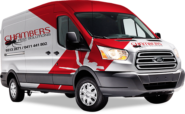 Chamber pest control truck