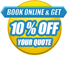 book online & get 10% off your quote